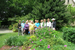 Our field trip to the Tower Hill Botanical Gardens in June 2014.